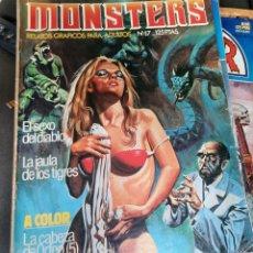 Cómics: MONSTERS. NUMERO 17. Lote 227979385