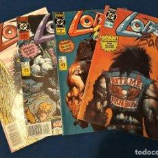 Comics : LOBO´S BACK EL REGRESO (SERIE LIMITADA 4 NÚMEROS) - ZINCO. Lote 228047156