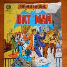 Cómics: BATMAN Nº 1 - BAT MAN - MEDIO HEROE - DC - ZINCO (R1). Lote 228162080