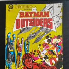 Cómics: BATMAN Y LOS OUTSIDERS 2. Lote 228306350