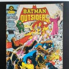 Cómics: BATMAN Y LOS OUTSIDERS. Lote 228306480