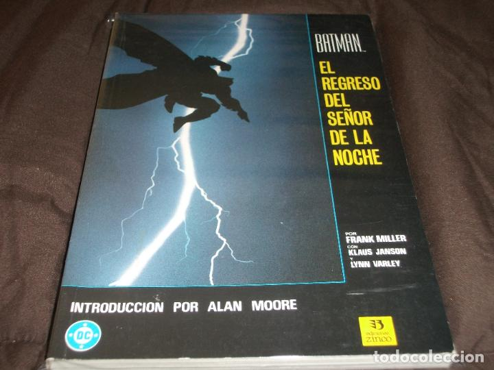 BATMAN EL REGRESO DEL SEÑOR DE LA NOCHE (Tebeos y Comics - Zinco - Batman)