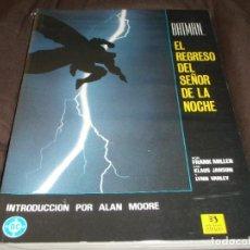 Cómics: BATMAN EL REGRESO DEL SEÑOR DE LA NOCHE. Lote 228470331