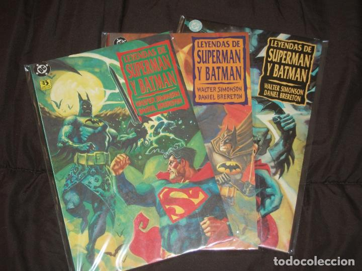 BATMAN LEYENDAS DE SUPERMAN Y BATMAN 3 TOMOS COMPLETA (Tebeos y Comics - Zinco - Batman)