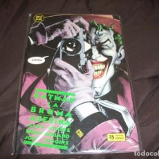 Cómics: BATMAN LA BROMA ASESINA. Lote 228475165