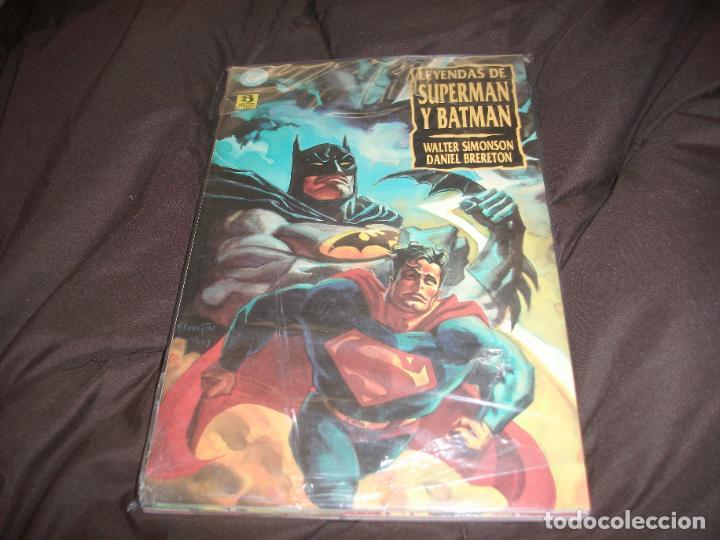 Cómics: Leyendas de superman y batman precintada completa 3 tomos - Foto 2 - 228476925