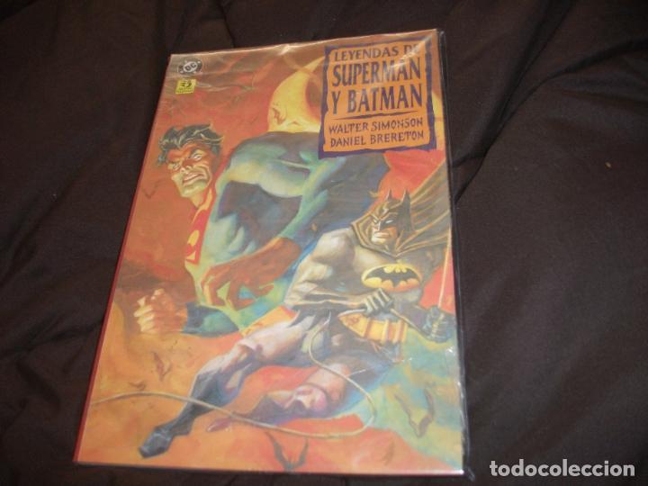 LEYENDAS DE SUPERMAN Y BATMAN PRECINTADA COMPLETA 3 TOMOS (Tebeos y Comics - Zinco - Batman)