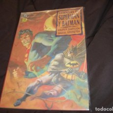Cómics: LEYENDAS DE SUPERMAN Y BATMAN PRECINTADA COMPLETA 3 TOMOS. Lote 228476925