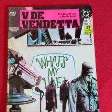 Cómics: V DE VENDETA Nº 5. Lote 228518730