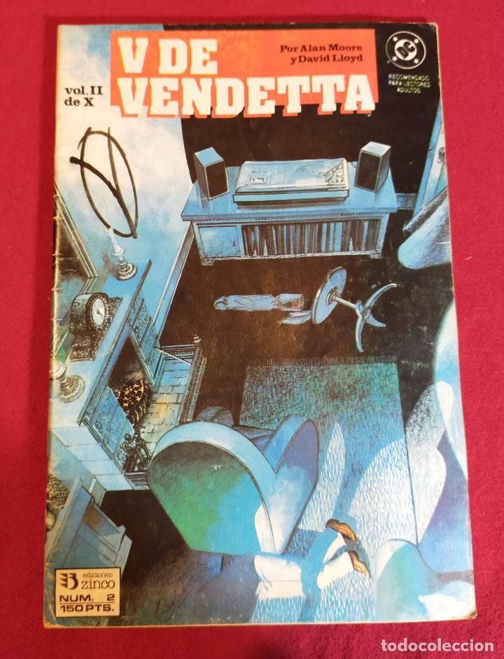 V DE VENDETA Nº 2 (Tebeos y Comics - Zinco - Otros)