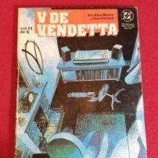 Cómics: V DE VENDETA Nº 2. Lote 228519036