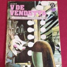 Cómics: V DE VENDETA Nº 1. Lote 228519120