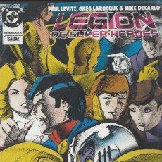 Cómics: LEGION DE SUPERHEROES - NºS 9 AL 13 EN UN RETAPADO - PRECINTADO !!. Lote 228864860