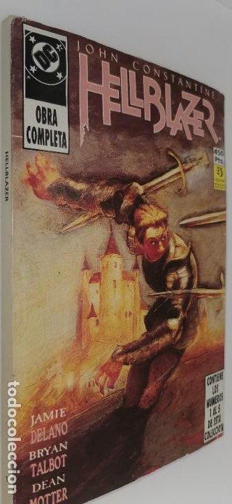 JOHN CONSTANTINE HELLBLAZER 1-5 (OBRA COMPLETA) (Tebeos y Comics - Zinco - Retapados)