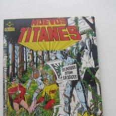 Comics: NUEVOS TITANES VOL.1 RETAPADO CON LOS NUM. 11 AL 15 ZINCO ARX25. Lote 228950965