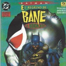 Comics: BATMAN - EL REGRESO DE BANE - LA REDENCION - ESPECIAL - PERFECTO ESTADO !!. Lote 229105260