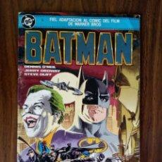 Comics: BATMAN: FIEL ADAPTACIÓN AL COMIC DEL FILM DE WARNER BROS - O'NEIL / ORDWAY / OLIFF. Lote 229154895