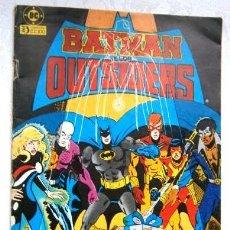 Cómics: ¿DÓNDE ESTÁN LOS NIÑOS? / BATMAN Y LOS OUTSIDERS Nº 6 / EDICIONES ZINCO EN BARCELONA 1986. Lote 229602520