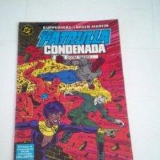 Cómics: LA PATRULLA CONDENADA - DOOM PATROL - NUMERO 6 - EDICIONES ZINCO - BUEN ESTADO - CJ 124. Lote 229651695