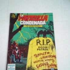 Cómics: LA PATRULLA CONDENADA - THE DOOM PATROL - NUMERO 5 - EDICIONES ZINCO - BUEN ESTADO - CJ 124. Lote 229652330