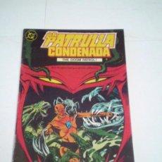Cómics: LA PATRULLA CONDENADA - THE DOOM PATROL - NUMERO 2 - EDICIONES ZINCO - BUEN ESTADO - CJ 124. Lote 229652630