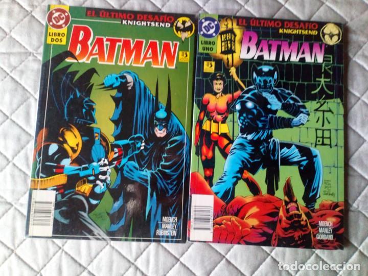 BATMAN EL ÚLTIMO DESAFIO 2 TOMOS COMPLETA ZINCO (Tebeos y Comics - Zinco - Superman)