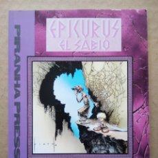 Cómics: EPICURUS EL SABIO VOLUMEN II: LOS MUCHOS AMORES DE ZEUS, POR WILLIAM MESSNER-LOEBS Y SAM KIETH.. Lote 229824585