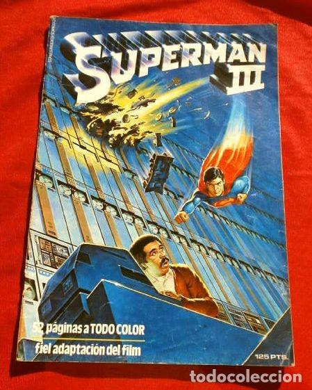SUPERMAN III (1983) EDICION EXTRA - ADAPTACION DEL FILM USA 1983 - ED. DC ZINCO (Tebeos y Comics - Zinco - Superman)