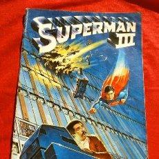 Cómics: SUPERMAN III (1983) EDICION EXTRA - ADAPTACION DEL FILM USA 1983 - ED. DC ZINCO. Lote 229913530