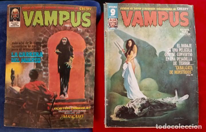 VAMPUS 23 Y VAMPUS 66 - INCLUYEN POSTER LOS DOS (Tebeos y Comics - Zinco - Otros)