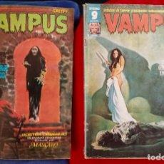 Cómics: VAMPUS 23 Y VAMPUS 66 - INCLUYEN POSTER LOS DOS. Lote 230184105