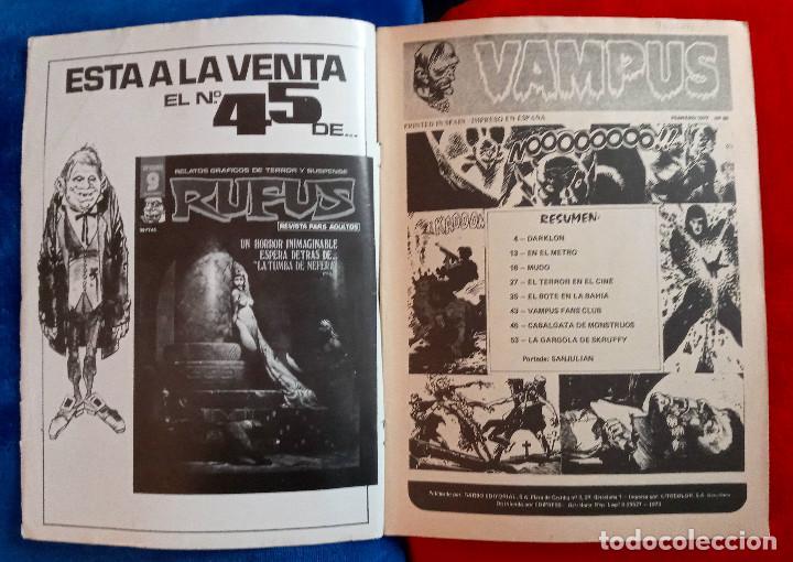 Cómics: VAMPUS 23 Y VAMPUS 66 - INCLUYEN POSTER LOS DOS - Foto 6 - 230184105