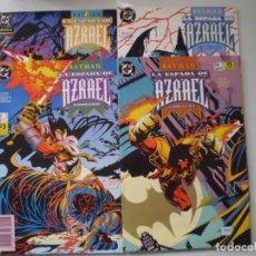 Fumetti: ZINCO BATMAN LA ESPADA DE AZRAEL COMPLETA. Lote 230340505