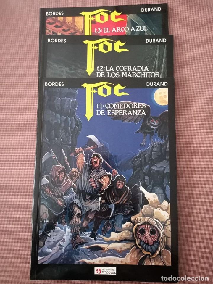 COMIC FOC Nº 1, 2 Y 3 (Tebeos y Comics - Zinco - Otros)
