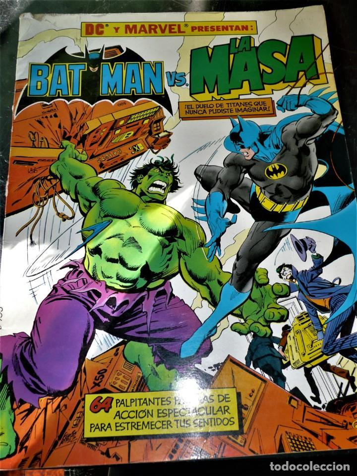 COMIC BATMAN VS. LA MASA (LEN WEIN / GARCÍA LÓPEZ / DICK GIORDANO) GRAN FORMATO (Tebeos y Comics - Zinco - Batman)
