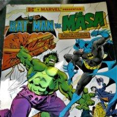 Cómics: COMIC BATMAN VS. LA MASA (LEN WEIN / GARCÍA LÓPEZ / DICK GIORDANO) GRAN FORMATO. Lote 230558630