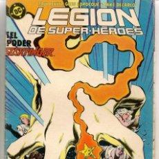 Comics : LEGIÓN DE SUPERHÉROES. Nº 9. DC / ZINCO. (C/A49). Lote 230971035
