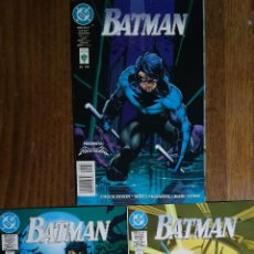 Cómics: BATMAN PRESENTA A NIGHTWING 266 267 268. Lote 231322705
