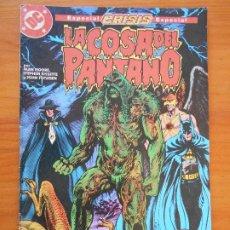 Comics: LA COSA DEL PANTANO - Nº 9 - ESPECIAL CRISIS - ALAN MOORE - DC - ZINCO (HH). Lote 231522885
