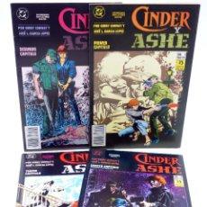 Fumetti: CINDER Y ASHE 1 A 4. MINISERIE COMPLETA (GERRY CONWAY / JOSÉ LUIS GARCÍA LÓPEZ) ZINCO, 1990. OFRT. Lote 231788470