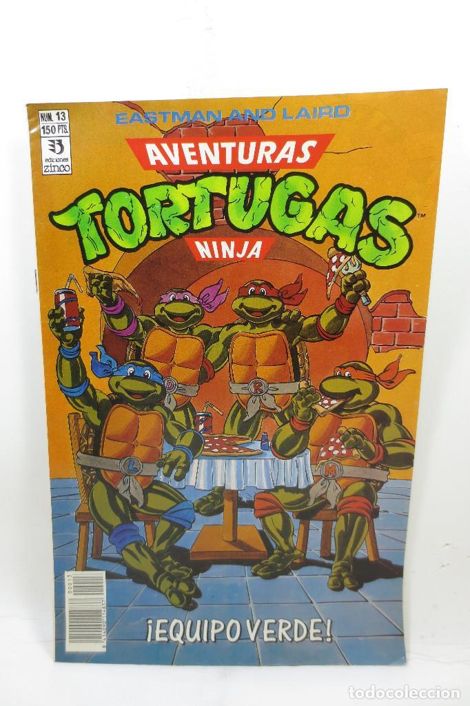 AVENTURAS TORTUGAS NINJA NÚMERO 13 (Tebeos y Comics - Zinco - Otros)