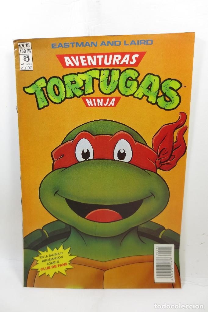 AVENTURAS TORTUGAS NINJA NÚMERO 15 (Tebeos y Comics - Zinco - Otros)