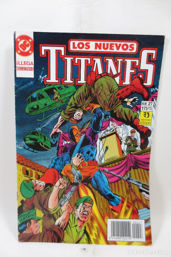 LOS NUEVOS TITANES NÚMERO 27 (Tebeos y Comics - Zinco - Otros)