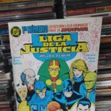 Cómics: PRIMER NÚMERO UN RETORNO A LA GRANDEZA PARA LA NUEVA LIGA DE LA JUSTICIA 1. Lote 231613505