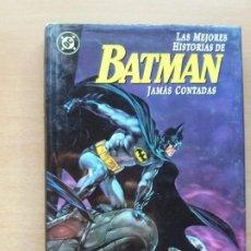 Cómics: LAS MEJORES HISTORIAS DE BATMAN JAMÁS CONTADAS. Lote 231748650