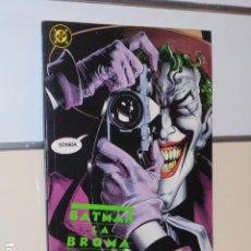 Comics: BATMAN LA BROMA ASESINA - ZINCO OCASION. Lote 231981445