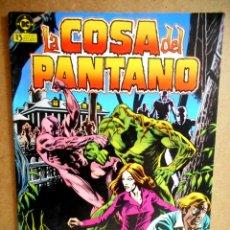 Cómics: LA COSA DEL PANTANO Nº 5 : LOS GRITOS DE LA CARNE HAMBRIENTA ( ZINCO 1985 ). Lote 232098160