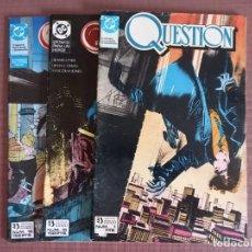Cómics: COMIC QUESTION 1, 15 Y 16. Lote 232226600