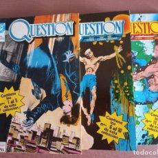 Cómics: COMIC QUESTION 3 RETAPADOS 1 AL 15. Lote 232227850
