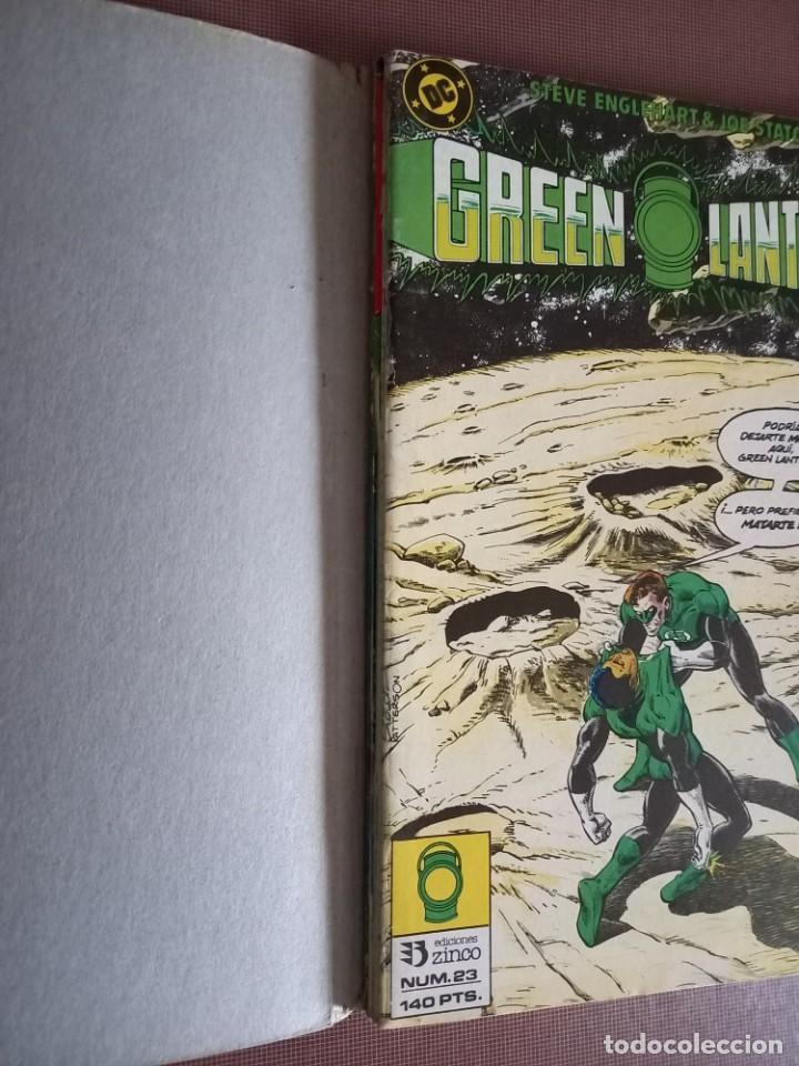 Cómics: COMIC GREE LANTERN RETAPADO 23 AL 27 - Foto 2 - 232295550